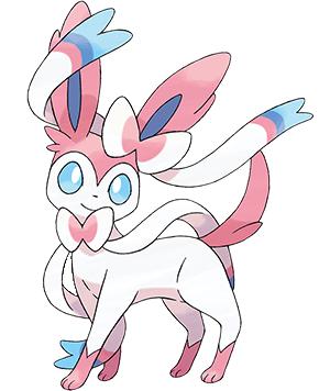 Pokémon X e Y, nova evolução do Eevee Slyveon